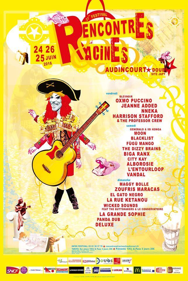 Festival audincourt rencontres et racines 2016