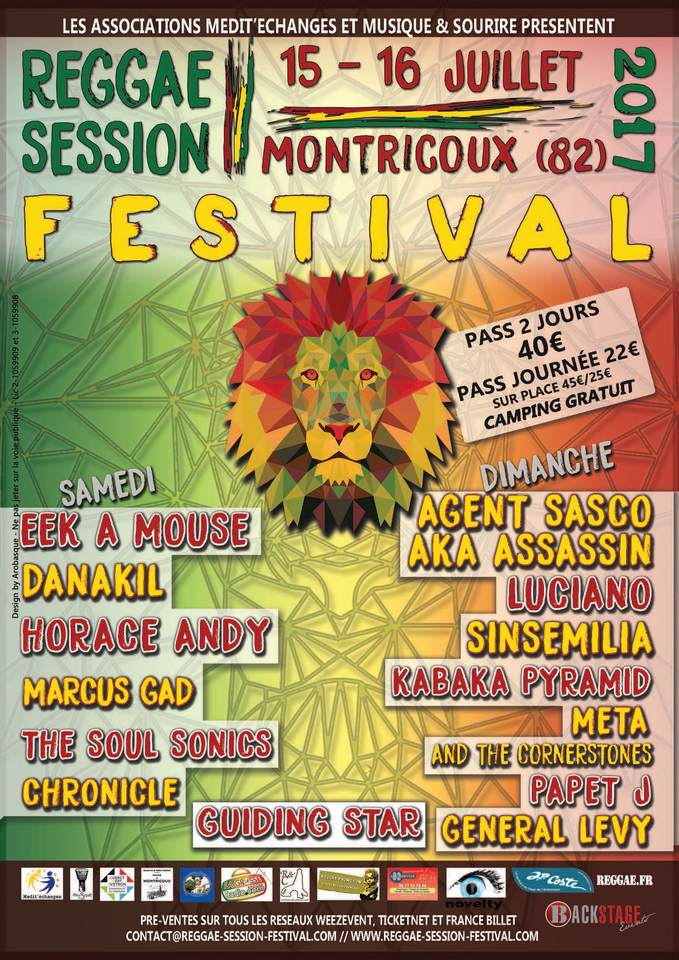 Reggae Session affiche 1
