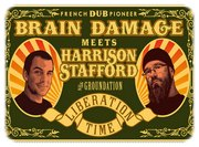 Brain Damage meets Harrison Stafford visu