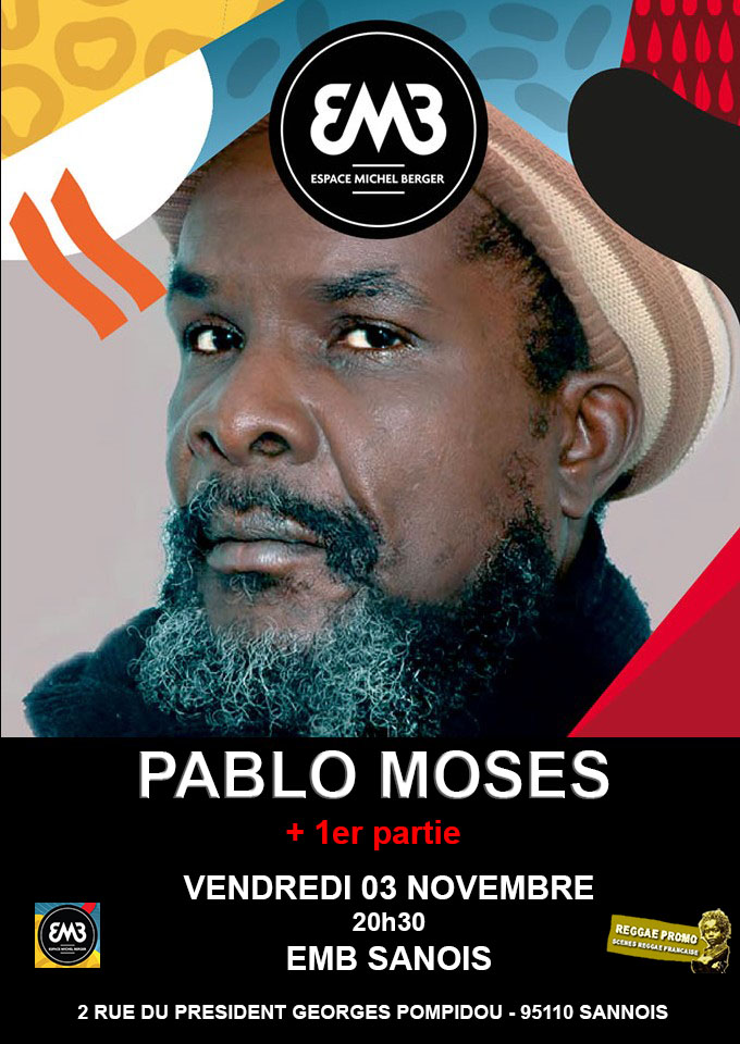 Pablo Moses date
