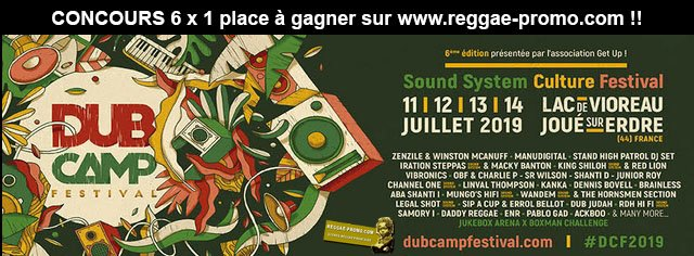 Dub Camp Festival 2019 fly